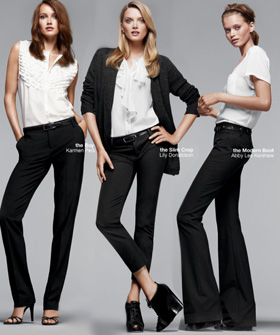 perfect black pants - Pi Pants